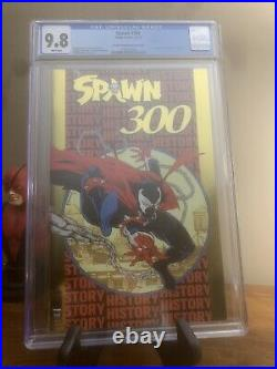 2019 Nycc Gold Foil Variant Cover Spawn #300! Ltd To 500! Cgc 9.8