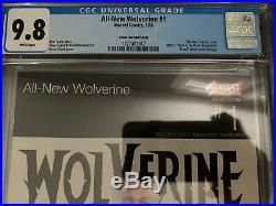 ALL NEW WOLVERINE #1 CGC 9.8 HIP HOP Variant X-23 DMX Homage Cover