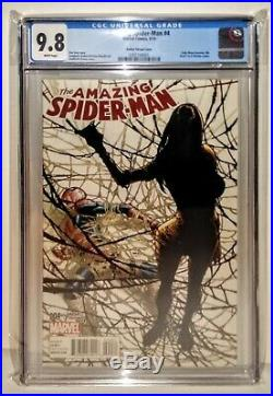 AMAZING SPIDER-MAN #4 Variant RAMOS Cover 1st SILK CGC 9.8Ultimate Fallout 2 3