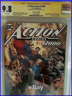 Action Comics #1000 (cgc 9.8) Jim Lee Signed & Sketched! Tour Variant Cover