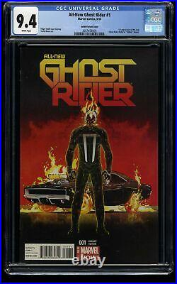 All-New Ghost Rider #1 CGC NM 9.4 Smith Variant Cover 1st Robbie Reyes