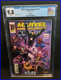 All New Marvel Now Point One #1 CGC 9.8 French Edition Variant Cover Kamala Khan