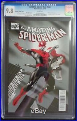 Amazing Spider-Man #646 Marvel Comics CGC 9.8 White Pages Mayhew Variant Cover