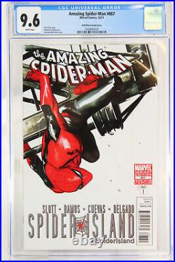 Amazing Spider-Man # 667 CGC 9.6 Marvel Modern Age Dell'Otto Variant Cover