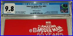 Amazing Spider-Man #692 Red 1970's Gwen Variant Cover CGC 9.8 NM/MT Marvel 2012