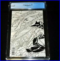 Amazing Spider-Man 700 CGC 9.8 White Pages Quesada Sketch Cover Variant 2013
