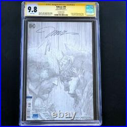 BATMAN #50 CGC SS 9.8 SIGNED by JIM LEE 1100 B&W Sketch Cover Variant 2018
