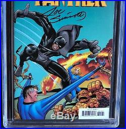 BLACK PANTHER #1 CGC 9.8 SS REMASTERED EDITION Jack Kirby Variant Cover 1500
