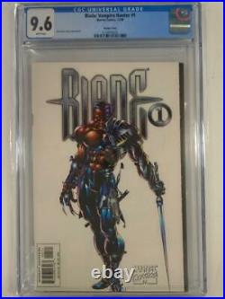 BLADE VAMPIRE HUNTER #1 CGC 9.6 WHITE pages MARVEL VARIANT COVER, 1ST ISSUE