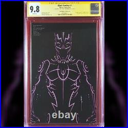 Black Panther #1 Jtc Variant Cover Cgc 9.8 Ss Signed By John Tyler Christopher
