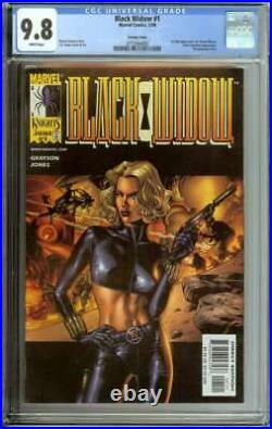 Black Widow #1 Cgc 9.8 White Pages / 1st Full App Of Yelena Belova Variant Cover