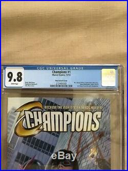 Champions #1 (2016) CGC 9.8 Alex Ross 1100 Incentive Variant Cover