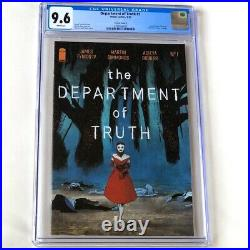 Department of Truth #1 CGC 9.6 1100 Dell'Edera VARIANT Cover F SIKTC Homage