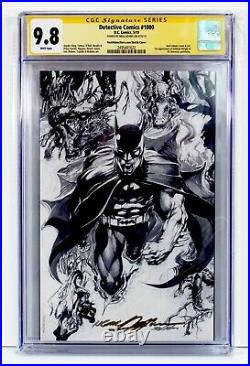 Detective Comics #1000 CGC 9.8 SS NM/MT Neal Adams Signed Sketch Cover Variant