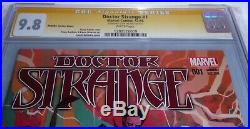 Doctor Strange #1 CGC SS Signature Autograph STAN LEE Rebelka Variant Cover 9.8