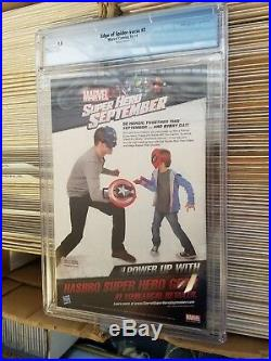 Edge of Spider-Verse #2 CGC 9.8 (2014) Greg Land Variant Cover