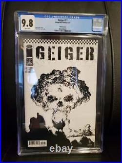 Geiger #1 (Image/Mad Ghost, 4/21) CGC 9.8 ONE PER STORE SKETCH COVER VARIANT
