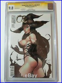 Grimm Fairy Tales Oz #1 Ale Garza variant cover CGC 9.8 SS