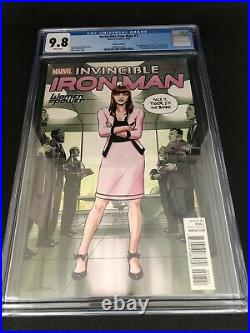 Invincible Iron Man #7 CGC 9.8 Variant Cover Women Of Power WOP First Riri Cameo