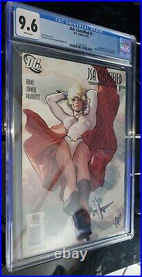 JSA Classified #1 CGC 9.6 White Pages DC 2005 Adam Hughes Cover Variant