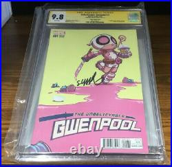 Marvel Comic Unbelievable Gwenpool #1 Variant Young Variant Cover Cgc Graded 9.8