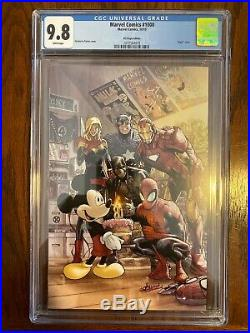 Marvel Comics #1000 CGC 9.8 D23 Expo Variant 1st Mickey Mouse on Marvel Cover
