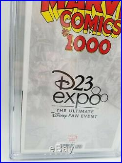 Marvel Comics 1000 CGC 9.8 D23 Variant 1ST MICKEY MOUSE ON MARVEL COVER
