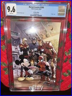 Marvel Comics #1000 Cgc 9.6 D23 Expo Ramos Mickey Mouse Cover Variant (2019)