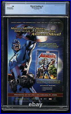 Marvel Zombies #1 CGC NM/M 9.8 Spider-Man #1 Homage Variant Cover
