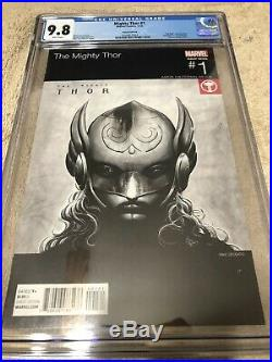 Mighty Thor 1 CGC 9.8 Hip Hop Madvillainy Variant Cover Avengers Jane Foster
