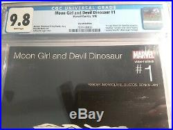 Moon Girl and Devil Dinosaur #1 Hip-Hop Variant Cover CGC 9.8 Low Print & Census