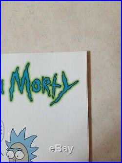 RICK AND MORTY #1 1ST PRINT JUSTIN ROILAND VARIANT COVER 1 In 50 NEAR MINT
