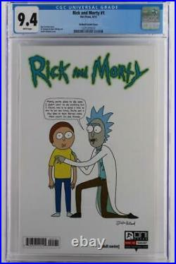 Rick And Morty #1 -NEAR MINT- CGC 9.4 NM -Oni Press 2015- Roiland Variant Cover