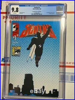 Sentry #1 CGC 9.8 (Marvel 2000) First appearance of Sentry! SDCC Variant cover