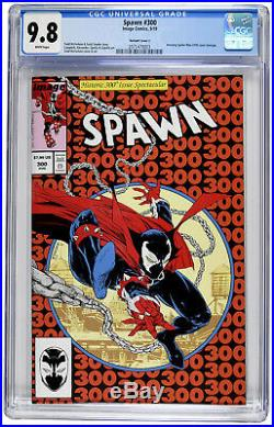 Spawn #300 CGC 9.8 Variant Cover J