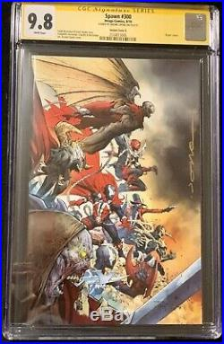 Spawn #300 Variant Cover P/O Set CGC 9.8 Todd Mcfarlane Signed Jerome Opena