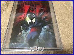 Spawn 301 CGC SS 9.8 Todd McFarlane signed Sienkiewicz Variant Cover 10/19