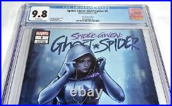 Spider-Gwen Ghost -Spider #1 CGC Universal Grade Comic 9.8 Lee Variant Cover