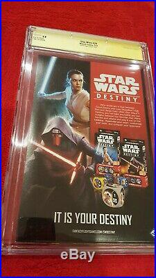 Star Wars #29 CGC 9.8 SS Mark Hamill Action Figure Variant Cover 1 Hot! NM+