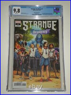 Strange Academy 1 (2020) CGC 9.8 Ramos Variant Cover, Many First Appearances