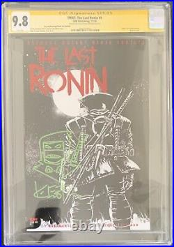 TMNT THE LAST RONIN #1 THANK YOU VARIANT COVER CGC SS 9.8 KEVIN EASTMAN WithSKETCH