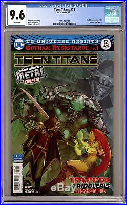 Teen Titans #12A Cover A Variant 1st Printing CGC 9.6 2017 2113476012