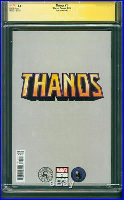Thanos 1 CGC SS 9.8 Clayton Crain Infinity Gauntlet Variant Cover Avengers