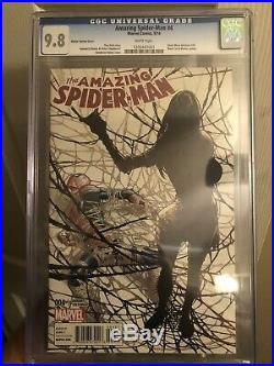 The Amazing Spider-Man #4 CGC 9.8 NM Ramos Variant Cover 1st Appearance of Silk