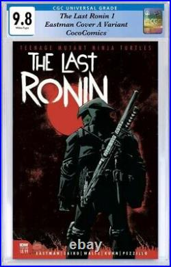 The last Ronin #1 CGC 9.8 IDW 2020. Eastman Cover A Variant PRE-ORDER 10/28/2020