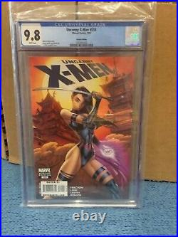 UNCANNY X-MEN #510 CGC 9.8 WHITE pages CAMPBELL Variant Cover MARVEL COMICS