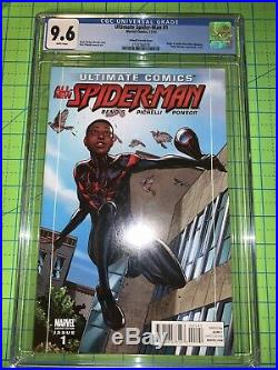 Ultimate Spider-Man #1 CGC 9.6 (2011) 115 PICHELLI VARIANT COVERL@@K