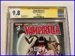 Vampirella #1 Cgc Ss 9.8 Variant Cover A Signed By Jenny Frison
