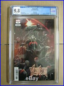 Venom #3 CGC 9.8 3rd Third Printing Cover Variant Edition 1st Knull Appearance