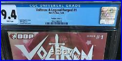 Voltron A Legend Forged #1c Cgc 9.4 Nm Variant First Jenny Frison Cover